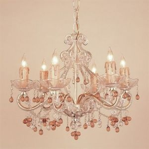 dreamy chandelier...it looks like the one in my dining room, but much prettier!
