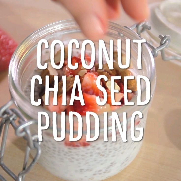 Breakfast Hacks: Coconut and Chia-Seed Pudding