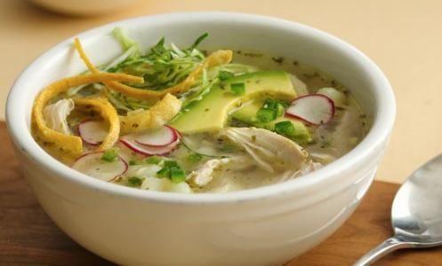 Mazola Receta - Pozole blanco de pollo en olla de cocción lenta