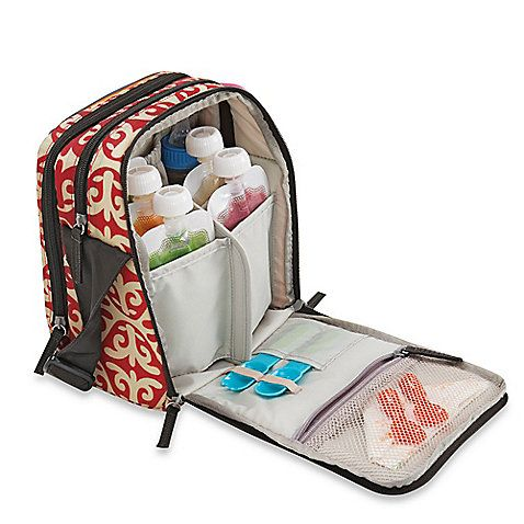 Keep the delicious, on-the-go baby food you just made cold for hours. The Stay Cool cooler bag is the perfect accessory for busy families.