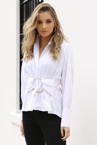 Aria Shirt - White