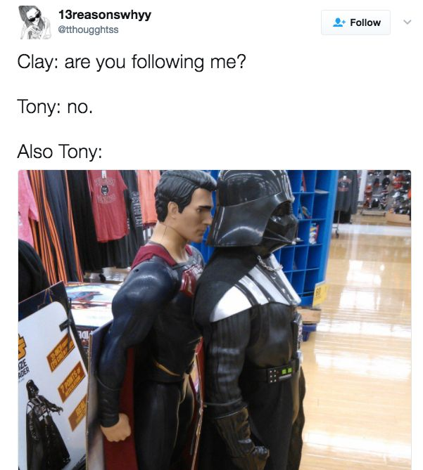 If anything, it might explain why Tony was such a frickin' weirdo. H/T to E! Online.