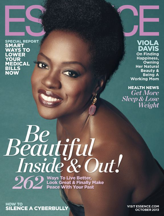 Viola Davis and her Fro Stun on the Cover of Essence Magazine