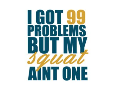 I have done more squats in one week than in whole life. LOL #Crossfit