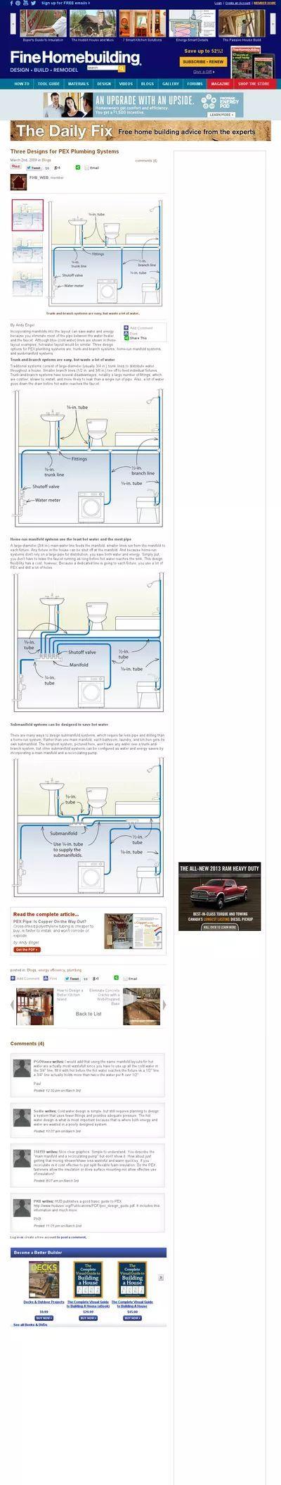 pex plumbing - Google Search