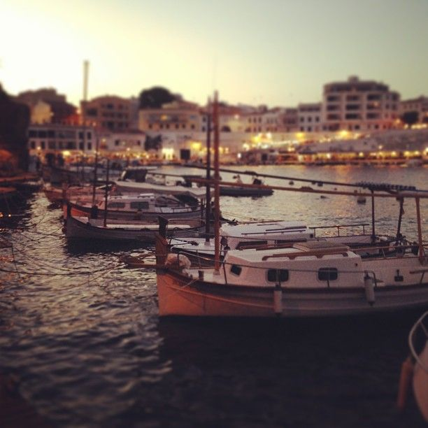 Cales Fonts, Es Castell (Menorca) *Go at night to have some dinner and an ice-cream