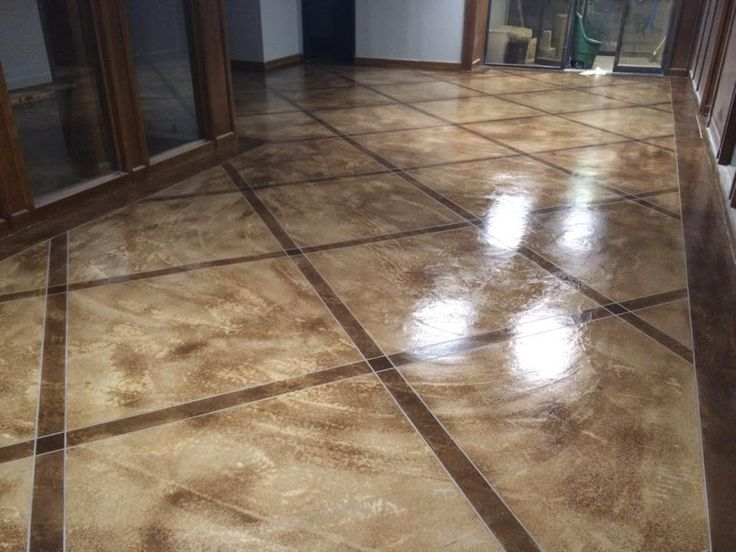 how to clean stained floor tiles