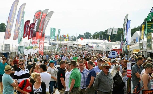 The CLA 2013 Game Fair was hosted at Blenheim Palace in Woodstock, Oxfordshire. The weekend was blessed with sunshine, with an approximate crowd of nearly 150,00 people. As you can see Gunmakers Row was very busy, which led to the Edgar Brothers Shooting Sports stand receiving great interest from the crowds.