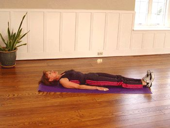 Today's #Exercise: Lying Straight Leg Raises. Great way to keep #abs in shape!