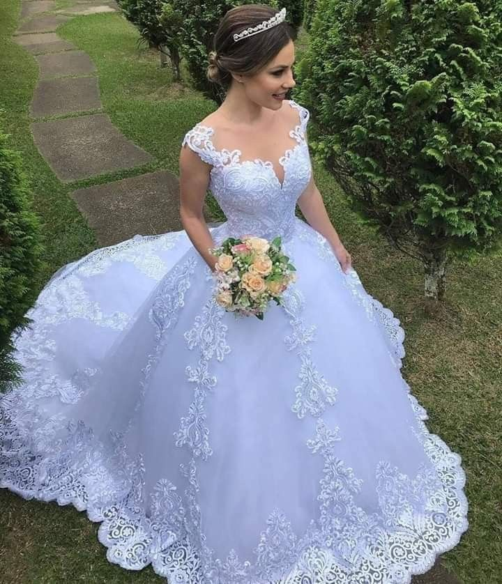 Vestido Novia Encaje En 2019 Vestidos De Novia Juveniles
