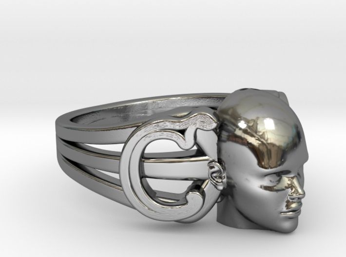 YOUR FACE ON A RING - Using your iPhone X or Sony Experia XZ you can now get a 3D Scan of your own face (https://youtu.be/fqyTTKaNal0). If you send it to me I can put it on a ring, or a wide range of other objects. I can also teach you how to do it if you live in London.  Web: http://www.personalisedpresents3d.co.uk/product/personalised-jewellery/ Study: http://www.personalisedpresents3d.co.uk/study/