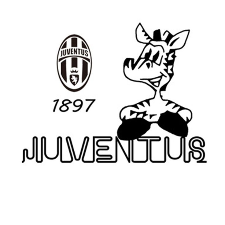 New Juventus Football Creative Wall Stickers Room Bedroom Decoration Wall Stickers #Affiliate
