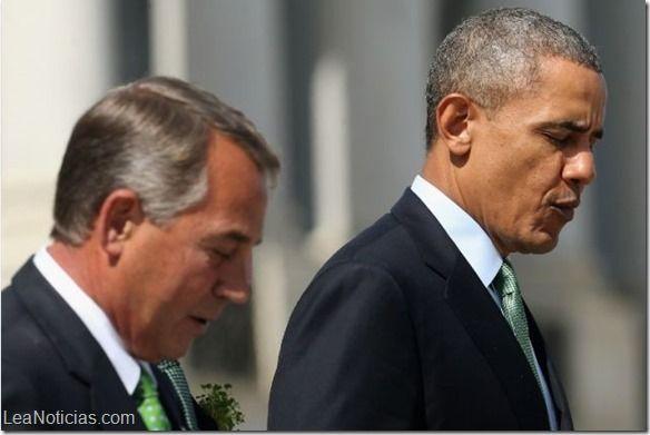 """Presidente de Cámara de Representantes de EEUU demandará a Obama por """"abuso de poder"""" - http://www.leanoticias.com/2014/06/26/presidente-de-camara-de-representantes-de-eeuu-demandara-obama-por-abuso-de-poder/"""