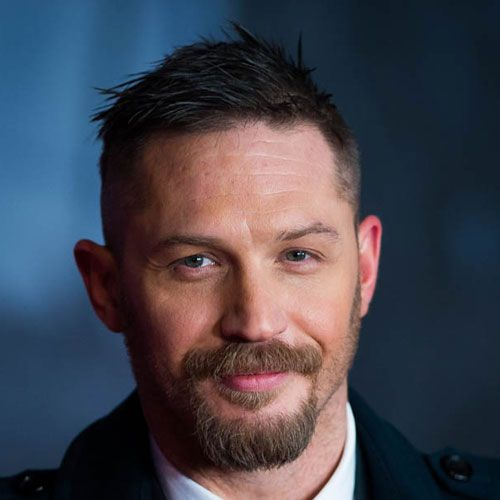 Tom Hardy Short Hairstyle