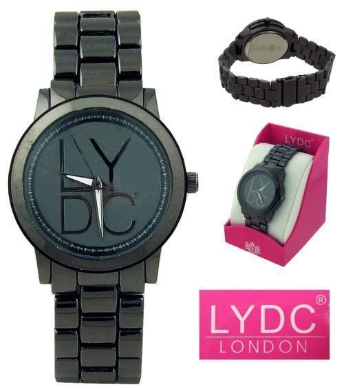 LYDC London Ladies Analogue Watch - Dark Blue