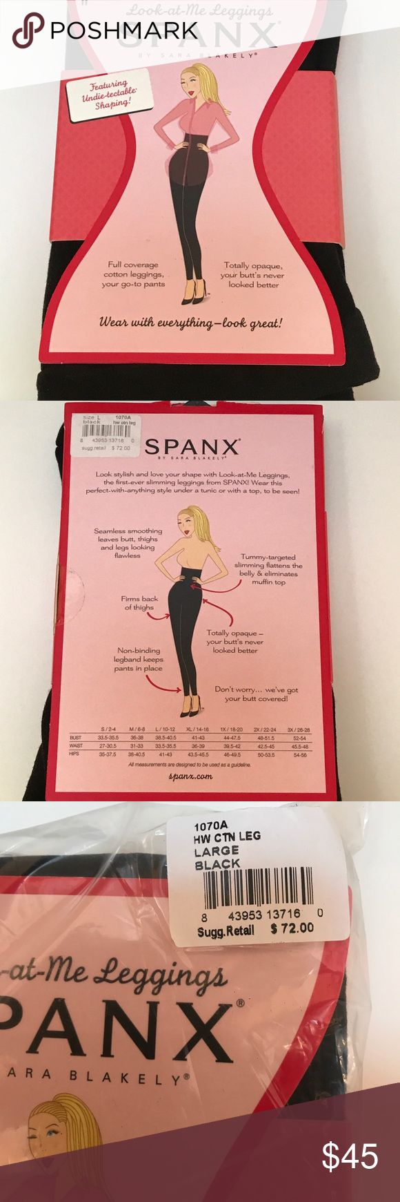 Spanx high waisted cotton leggings Spanx high waisted cotton leggings,,,, SPANX Pants Leggings