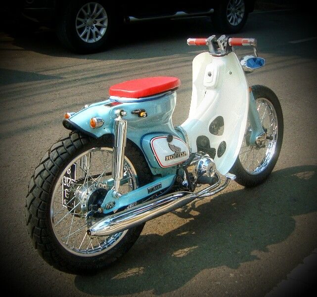 My Honda C70 custom