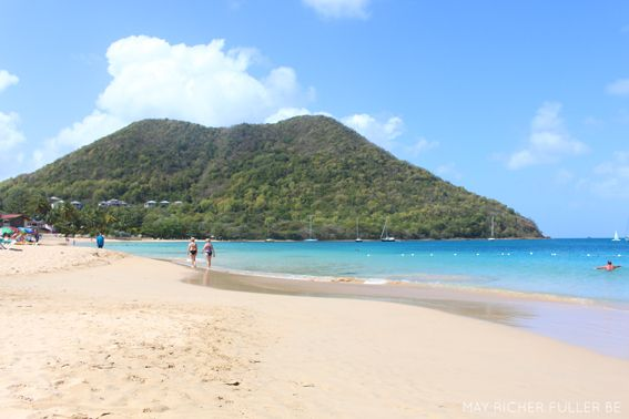 Reduit Beach, Rodney Bay, St Lucia. My favourite beach in the Caribbean.