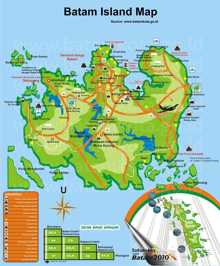 batam indonesia | History of Batam