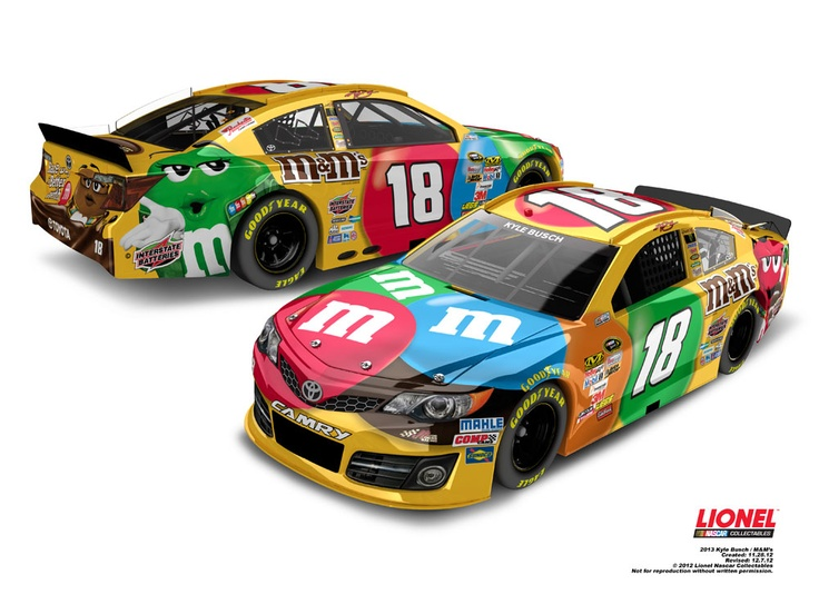 67 best images about 2013 Die-Cast Paint Schemes on ...