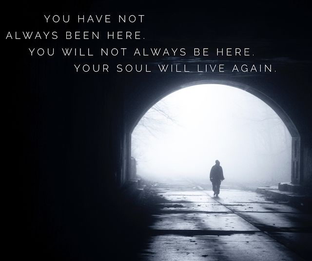What to do when you can't seem to find your way out of darkness...