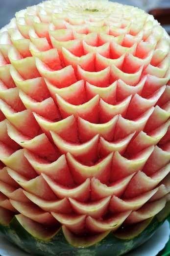 Carved watermelon - Elena Stepanova/Getty Images