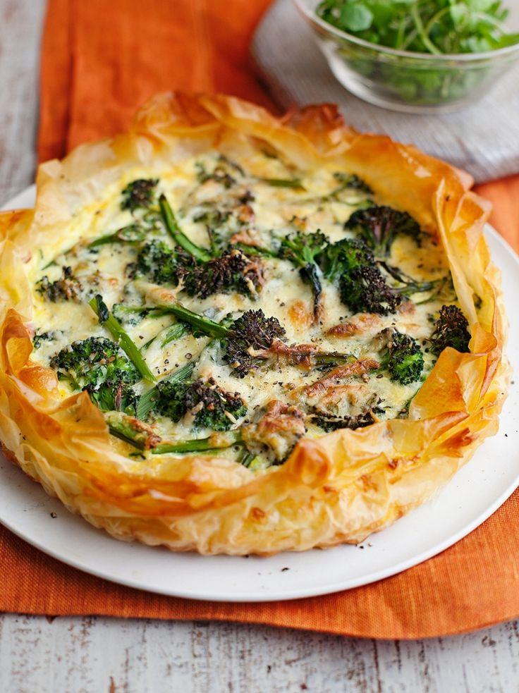Ham & Leek Quiche | Pork Recipes | Jamie Oliver