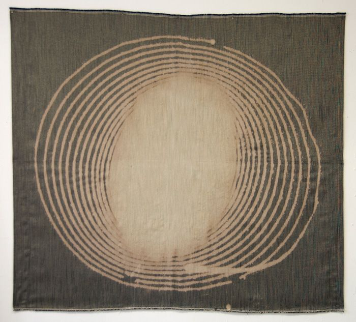 Stain, 2010, Bleach on fabric by Field Kallop
