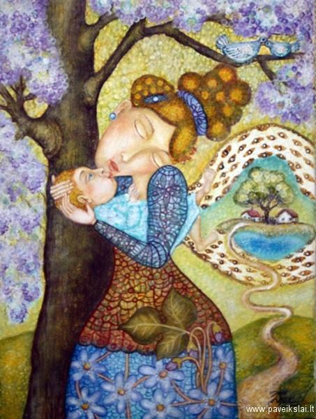 """Wonderful work by Danguolė Jokubaitienė """"Flowering"""". You must see! #"""