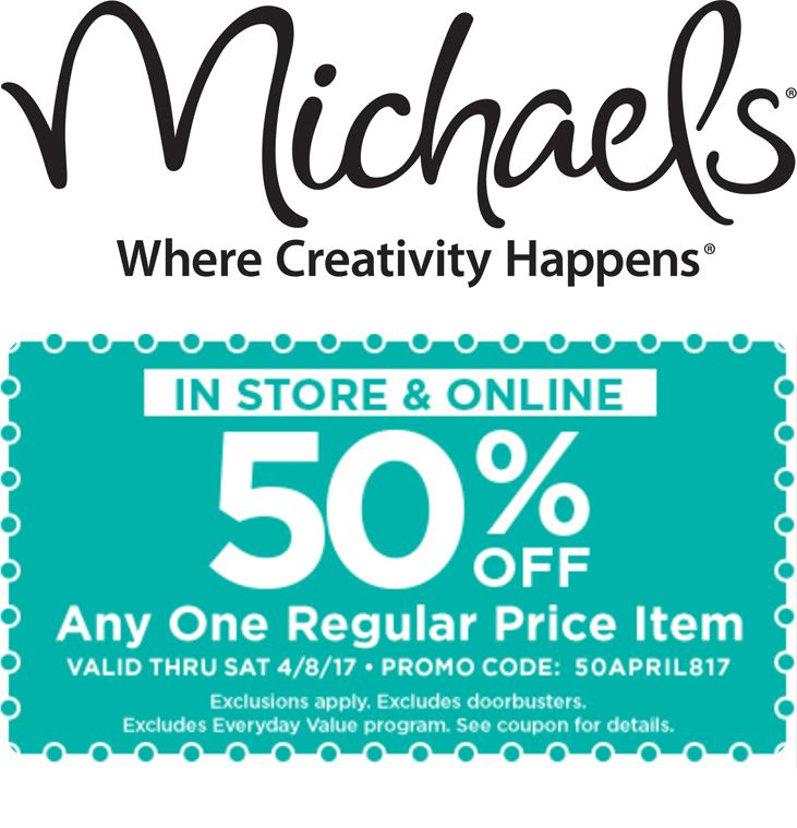 get 50 off any one regular priced item michaels http - Michaels Framing Prices