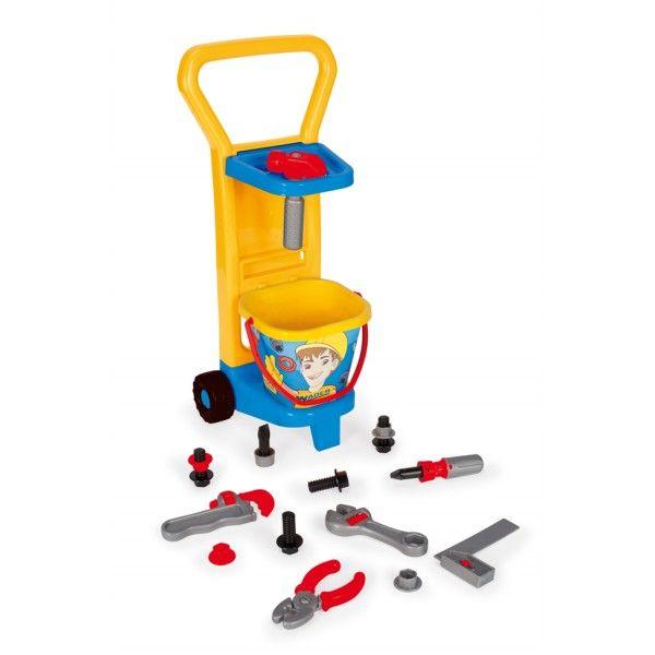 Wader 10776 - Zestaw Mały Mechanik z Zabawkowymi Narzędziami