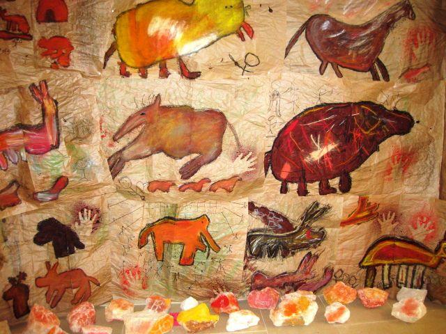 A few Cave art lessons great ideas