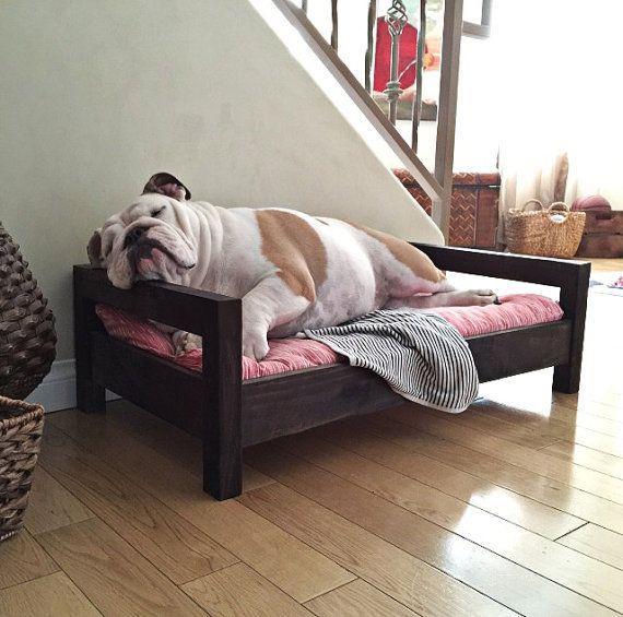 Medium Dog Bed  Raised Dog Bed  Elevated Dog Bed  by CozyCama