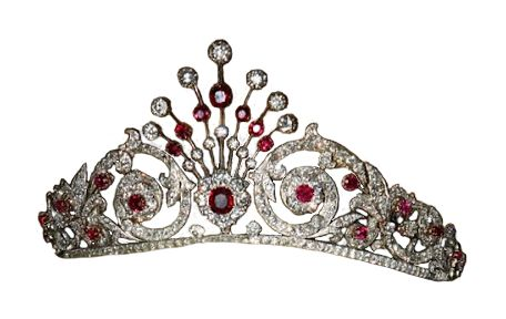 The Ruby Peacock TiaraThe Dutch Ruby Peacock Tiara was made by Johann Eduard Schürmann & Co. in 1897. It was commissioned by Queen Wilhelmina, who wanted to use rubies that once belonged to her...