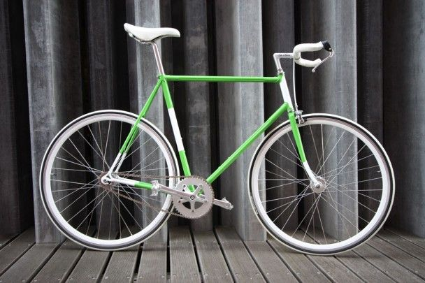 "Fixed gear bike ""Friday I'm in love"""