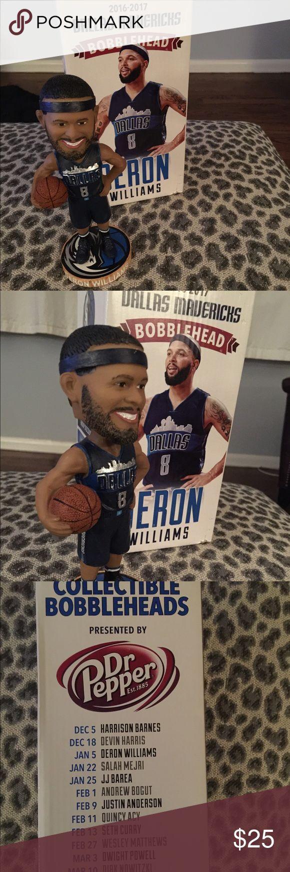 Dallas Mavericks Deron Williams Bobble Head 2016-2017 Dallas Mavericks Deron Williams Bobble Head... Still in box.. #8 dallas Mavericks Other
