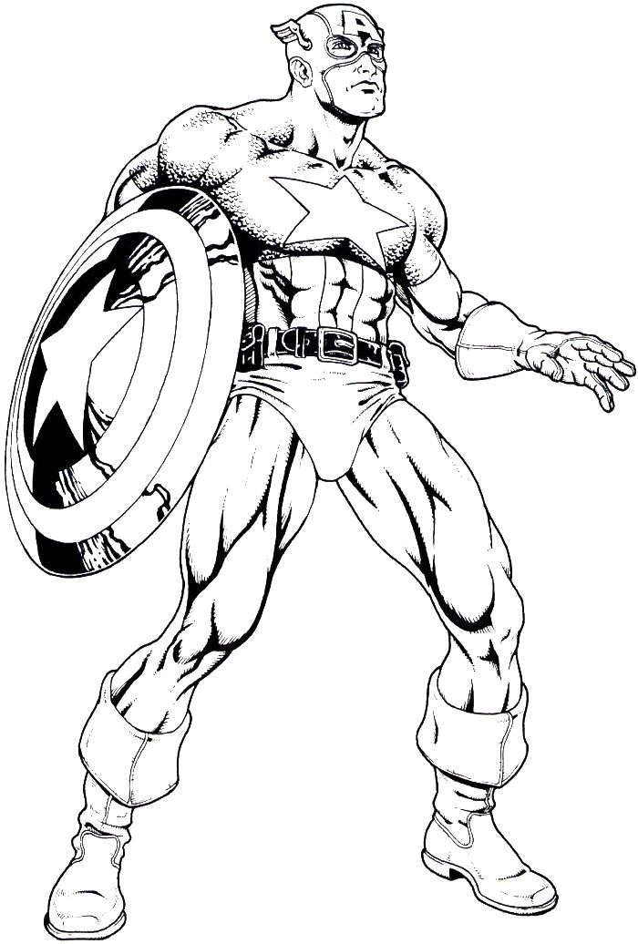 Mighty Avengers Coloring Pages : Best coloring book images on pinterest