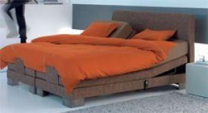 Het 'City' bed  is een eigentijds bed voor echte genieters. #Beka #CornelisBedding
