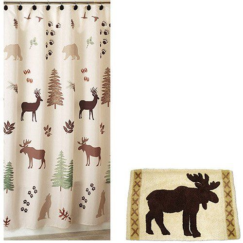 Brown Green Bear Deer Lodge Cabin Rustic Fabric Shower Curtain and Hooks Trends,http://www.amazon.com/dp/B0091KP1VI/ref=cm_sw_r_pi_dp_sJbLsb12HEZ81X48