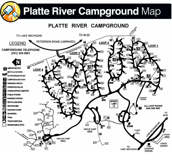 Pin By Cynthia Mims On Camping Michigan Vacations Map