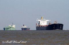 Seakay Spirit Crude Oil Tanker Wilmington DE b Galveston 09/07/2017