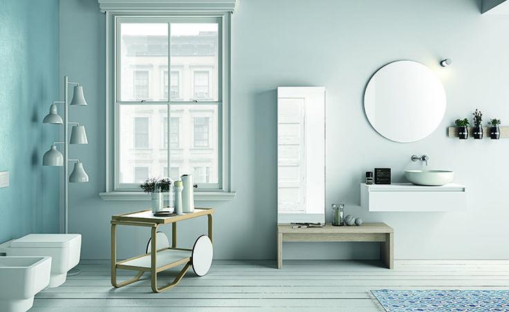 Mobili moderni per l'arredo bagno. Presso Ometto arredamenti trovi sanitari, rubinetteria e mobili personalizzati per l'arredamento funzionale del bagno.