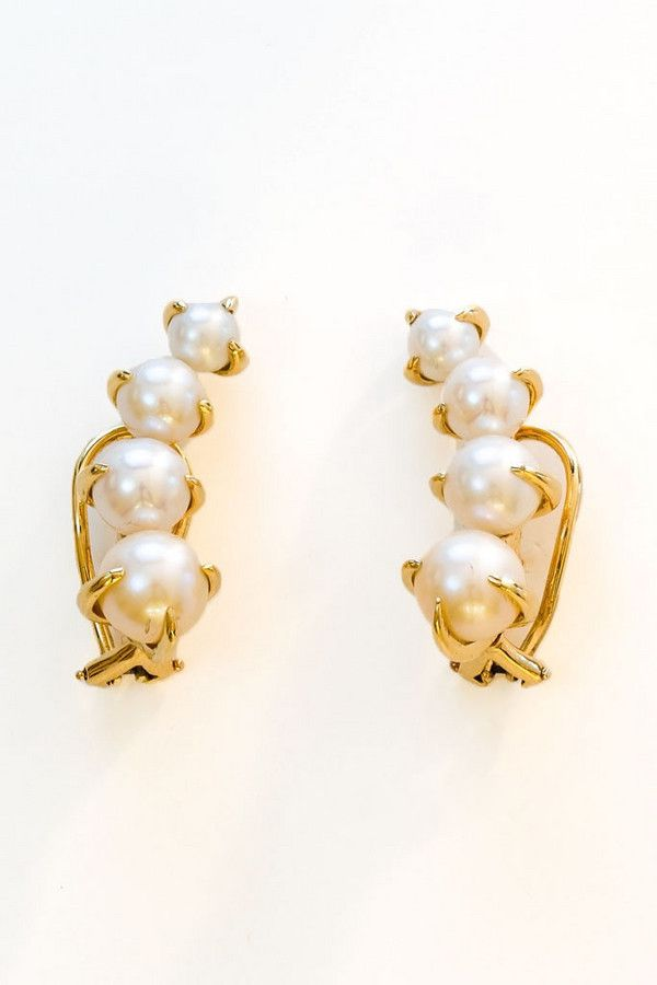 pearls with gold