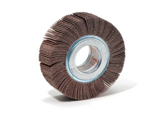 www.consiglioabrasivi.com Flap wheels with hole Flap wheels with hole are made with abrasive cloth flaps radially fixed to a metallic flange. Flap wheels are versatile tools employed for both coarse grinding to finishing operations, on flat and shaped parts. A wide range of sizes are available on the catalogue, but others are available upon request.