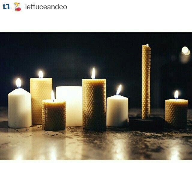 #beeswax #madeinmelbourne #candles