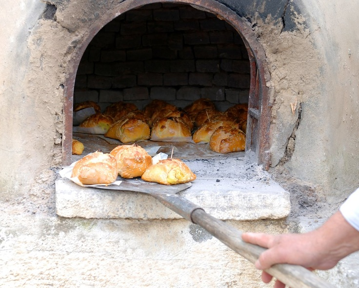 """Cyprus, There could be no easter with out freshly baked """"flaounes"""" at your gramma's """"fourno""""! - cheese and halloumi filling rolled in traditional bread dough! Cyprus knows easter!"""