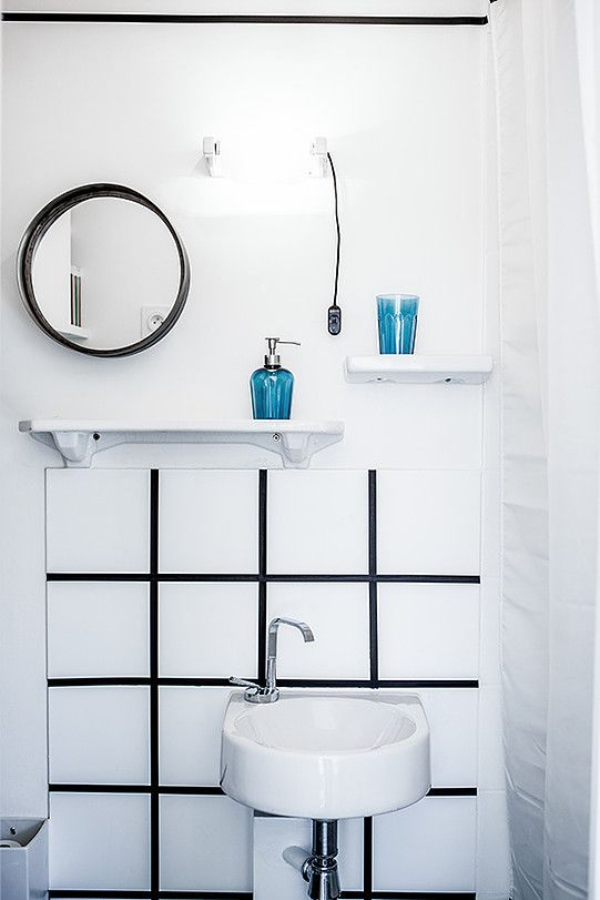 8 best Ambiances images on Pinterest Bathroom, Apartments and - joint noir salle de bain