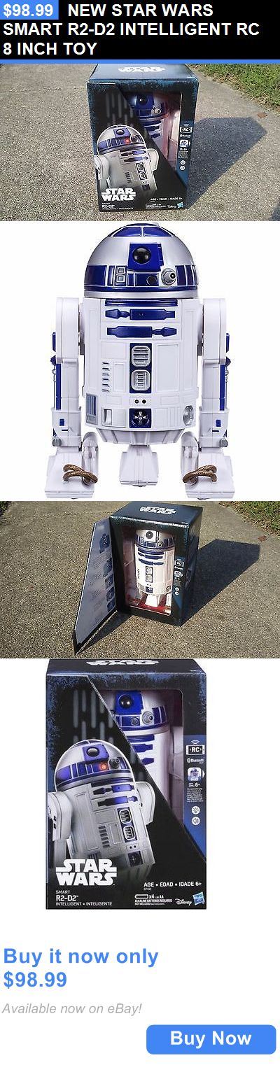 Toys And Games: New Star Wars Smart R2-D2 Intelligent Rc 8 Inch Toy BUY IT NOW ONLY: $98.99
