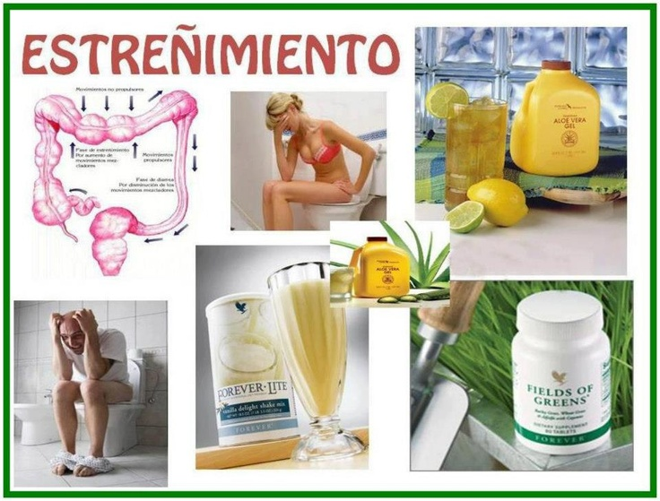 Forever Lite, Aloe Vera Gel and Fields of Green good for Constipation.