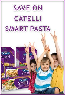 Save on Catelli Smart Pasta    Save now: http://free4him.ca/coupons/save-on-catelli-smart-pasta/